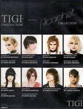 HAIR DRESSING/NVQ/BRIDAL/TIGI/TONI&GUY 'RICOCHET' 6 DVD SET/UNDERCUT/COLOR/11