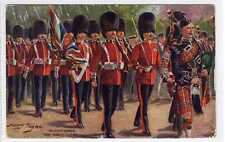 (Lt480-383)  Scots Guard, The Kings Guard c1915, Used G