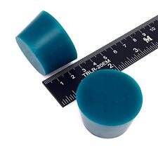 """(2) 1 5/16"""" x 1 5/8"""" #8 High Temp Silicone Rubber Plugs Powder Coating Paint"""