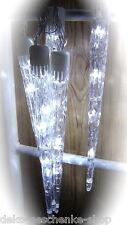 40 ER LED Guirlande lumineuse 10 Stalactite de glace hiver éclairage extérieur
