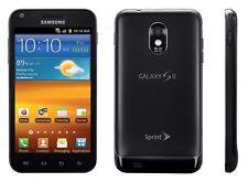 SPRINT Samsung Galaxy S II Epic 4G Touch SPH-D710 16GB Black Clean ESN CDMA GOOD