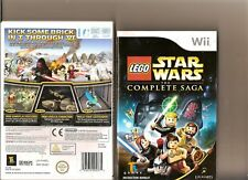 STAR WARS LEGO THE COMPLETE SAGA épisodes 1 To 6 Nintendo Wii