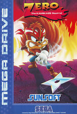## SEGA Mega Drive - Zero the Kamikaze Squirrel (AU PAL Version) - TOP ##