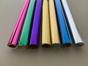 Folia Alu-Bastelfolie, 50 x 80 cm Bastelfolie Folie verschiedene Farben