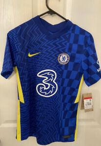 Chelsea Home Stadium Shirt 2021-22 - Kids / Junior Size L (147-158CM)