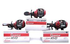 (3) Quantum Team KVD Performance Tuned KVD101H LH Baitcast 7.3:1 Reels Brand New