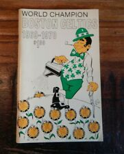1969-70 BOSTON CELTICS WORLD CHAMPIONS NBA BASKETBALL YEARBOOK RUSSELL HAVLICEK+