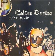 CELTAS CORTOS - C'EST LA VIE CD SINGLE 1 TRACK PROMO SPAIN 2002 CARDBOARD