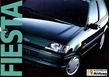 Ford Fiesta Prospekt 1994 6/94 brochure Autoprospekt Broschüre prospectus Auto