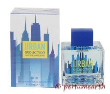 URBAN BLUE SEDUCTION BY ANTONIO BANDERAS 3.4/3.3 OZ EDT SPRAY FOR MEN NEW IN BOX