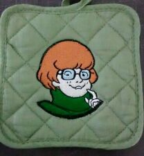Mystery Inc. Velma Embroidered Green Potholder