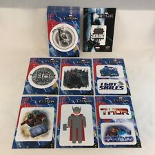 THOR: THE DARK WORLD (Upper Deck 2013) Complete DIE-CUT STICKER SUBSET (50)