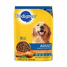 PEDIGREE Complete Nutrition Adult Dry Dog Food Chicken 17 lbs. Free Shipping
