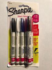 Sharpie Oil-Based Paint Markers Fine Point Assorted Colors 5 Pack & BONUS MARKER