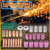 US 40PCS #10 Gas Lens WP-17/18/26 Stubby Kit Welding TIG Pyrex Glass Torch