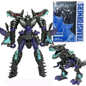 Transformers Nemesis Grimlock Exclusive Age of Extinction Voyager Action Figures
