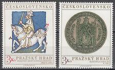 CSSR / Ceskoslovensko Nr. 2141-2142** Prager Burg