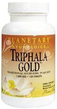Triphala Gold Ayurvedics 1000mg X 120 Tablets Planetary Herbals