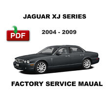 JAGUAR 2004 2005 2006 2007 2008 2009 XJ XJ8 XJR DISEL SERVICE REPAIR FSM MANUAL