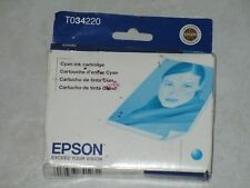 Genuine Epson T0342 Cyan Color Ink Stylus Photo 2200. Exp: 2012. Check out!!