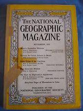 National Geographic- Nov 1950 - Miami - Vizcaya - Baltic cruise - Marines
