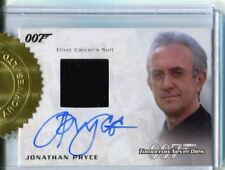 James Bond Archives 2016 Spectre  Auto Costume Card Jonathan Pryce