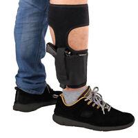 Concealed Carry Ankle Leg Pistol Gun Holster For Pouch Universal Gun Case