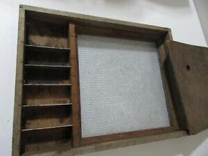 Vintage Seth Green Wood Fishing Box Trolling Rig