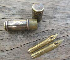 Brass nib holder  with 2 CITO FEIN nibs
