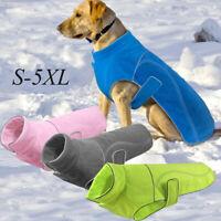 chien en molleton veste pet chaud manteau des vêtements toutou refait veste