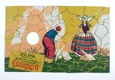 Packaging Advertisement Chocolates from the House of Garrott Jigsaw Puzzle 1920s