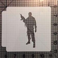Soldier 101 Stencil