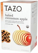 Tazo Herbal Tea Bags, Organic Baked Cinnamon Apple 20 ea