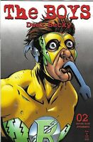 Boys Dear Becky Comic 2 Cover A Darick Robertson First Print 2020 Garth Ennis