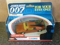 CORGI TOYS JAMES BOND 007 LOTUS ESPRIT TURBO FOR YOU EYES ONLY EXCELLENT CON