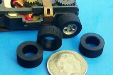 HO Slot Car Aurora AFX 4 Super Grip Rubber Rear Tires (NOT SILICONE) Perfect Fit