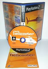 RADIO HELICOPTER - Playstation 2 Ps2 Play Station Gioco Elicotteri Aerei Game
