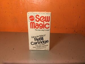 Mattel Sew Magic Refill Cartridge Miracle Stitch Sew Magic Machine 1973 NEW