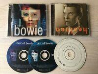 David Bowie - Heathen & Best Of - 2 CD Album Bundle