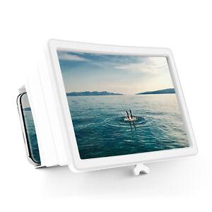 3D HD Screen Amplifier Folding Mobile Cell Phones Screen Magnifier Stand Bracket