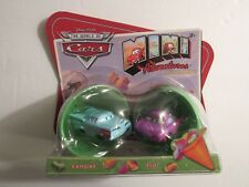 RARE Disney Cars Mini Adventures Holiday Ramone & Flo Green Egg M9194