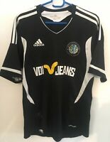 GENUINE MACCLESFIELD TOWN FOOTBALL SOCCER AWAY SHIRT ADULT MEDIUM 2011/2012