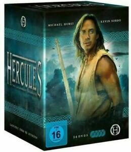 HERCULES - THE LEGENDARY JOURNEYS COMPLETE SERIES 1-6 NEW AND SEALED UK REGION 2