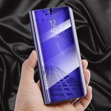 Clear View Spiegel Mirror Smart Cover für Smartphones Schutzhülle Tasche Case