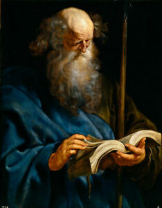 Dream-art Oil painting 鲁本斯油画作品 耶稣十二门徒 Rubens the twelve disciples of Jesus art