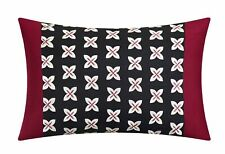 Karras 10 Piece Comforter Set Color Block Quilted Embroidered Design Bed in a...