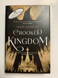 Crooked Kingdom SIGNED BOOK Leigh Bardugo 1ST Hardcover Grishaverse Six of Crows
