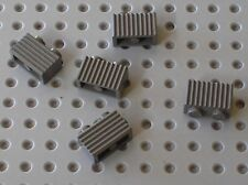 5 x LEGO Olddkgray brick ref 2877 / set 10129 7186 7034 7204 7316 7106 7191 ...
