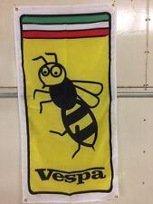 Vespa Wasp Banner Flag~Scooter lambretta Piaggio Cosa Pk Px T5 50 Collect
