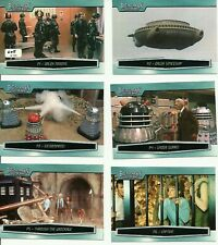 Doctor Who Big Screen 10 card Preview set - #605/999